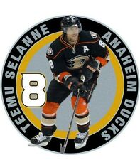 NHL ANAHEIM DUCKS TEEMU SELANNE #8 Lapel Pin