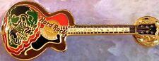 Hard Rock Cafe BANGKOK 2006 HALLOWEEN NITE PIN Skull Guitar - HRC Catalog #35753