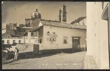 REAL PHOTO Postcard TAXCO MEXICO  Hotel Los Arcos view 1930's