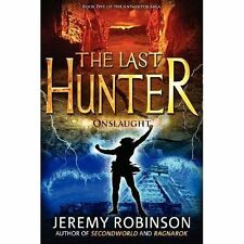 The Last Hunter - Onslaught (Book 5 of the Antarktos Saga)-ExLibrary