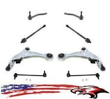 New Front Lower Control Arms Sway Bar Links & Tie Rods for Nissan Murano 09-14