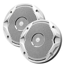 "New JBL MS6510 6.5"" Inch Dual Cone Marine Outdoor Stereo Speakers - (Pair) White"