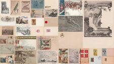 * MILITARE - Artiglieria Italiana - Lotto di 33 Cartoline 1900/20 WWI