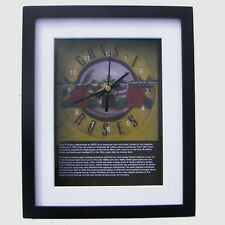 Guns N' Roses. High quality framed print and clock. Music memorabilia.