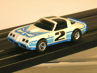 "HO Slot Car AURORA No 2  ""T"" Top Firebird 1979-82 with AFX Chassis"