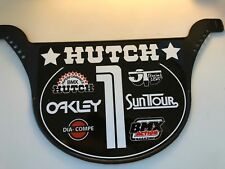 Old School Proto Plate BMX Number plate by NEAL Enterprises - HUTCH BMX