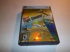 Microsoft Flight Simulator X: Deluxe Edition rare pc game DVD