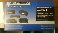 Canon FX-3 (HP) Toner Cartridge, See description for printer models