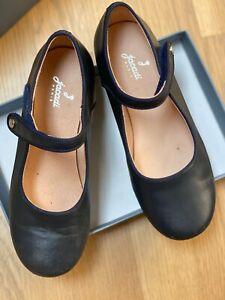 NEW Jacadi Adorable Shoes size 32 US size 1.5 Navy Blue Mary Jane Classic Style