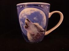 Call of the Wild Wolf y la Luna Taza diseñada por Robert koni viene en caja