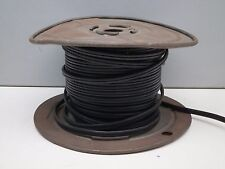 (Apprx 100ft) Roll of Black 18/2 SPT-1 Lamp Cord Wire 300V 18AWG