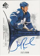 2009-10 SP AUTHENTIC JAY ROSEHILL FUTURE WATCH ROOKIE AUTOGRAPH