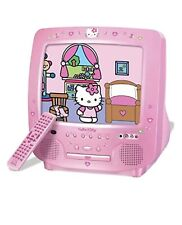 Hello Kitty TV with DVD Player and Remote