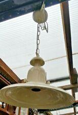 Unused Reproduction Industrial Ceiling Light