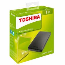 "DISCO DURO EXTERNO TOSHIBA CANVIO BASICS 1TB 2.5"" USB 3.0 BLACK"