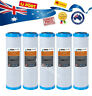 "5 X 0.5 Micron Carbon Water Filter Cartridges (2.5"" x 10"") Standard Size"