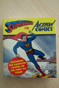 Superman in Action Comics Covers of First 25 Years 1st Ed. 1993 Tiny Folio