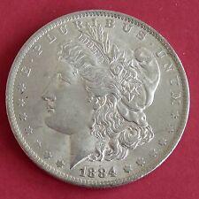 EE. UU. 1884 o Morgan Silver Dollar-Nueva Orleans Menta