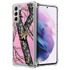 Case For [Samsung Galaxy S21 /S21 5G][Clear Bumper SET13] Slim Flexible Cover