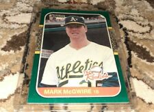 1987 Donruss #1 Mark McGwire The Rookies Rc  Card Oakland A's - Cardinals 🔥*40