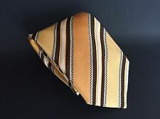 ERMENEGILDO ZEGNA MADE IN ITALY 100% SILK  MEN'S NECK TIE