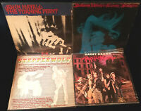 4 Pc Blues Lot- Mayall, Savoy, Winter, Steppenwolf Vinyl LP Records