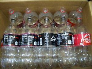 20 Lot, Empty Clear Plastic 2 liter Coke/Cola/Soda Bottles Arts Crafts Gardening
