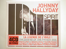 COFFRET JOHNNY HALLYDAY - La legende de l'idole (Spirit)