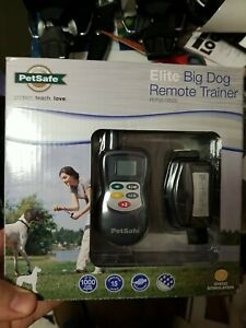 petsafe elite big dog remote trainer PDT00-13625 1000yd range rechargeable new