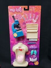 My Life As Biology Play Set for Dolls, Light Up Microscope~NEW~USA SELLER