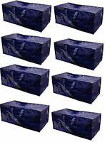 Heavy Duty Extra Large Storage Bag Moving Tote Backpack Boxes (8 Pack)