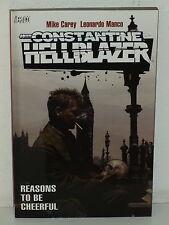 John Constantine HELLBLAZER: REASONS to be CHEERFUL TPB - Carey MANCO Vertigo DC