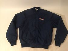Mens Vintage Jacket Garage Urban Outfitters Style Eagle Patch Asian Back Small