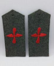 Paire de pattes d'épaules de Flieger Pilote allemand 14-18 Reproduction