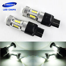 T20 SAMSUNG LED 15W 7443 580 582 SMD Bulbs Side Daytime Running Light DRL Xenon