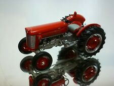 UNIVERSAL HOBBIES MASSEY FERGUSON 50 TRACTOR - RED 1:43 - VERY GOOD CONDITION