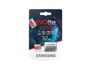 Samsung Micro SDHC SDXC Memory Card Class 10 32GB 64GB 128GB 256GB & SD Adapter