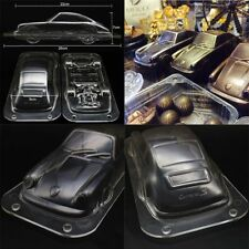 Baking Molding DIY Car Shape Mold Fondant Cake Polycarbonate 3D Chocolate Mould