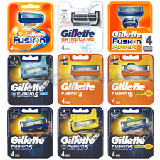 GILLETTE FUSION5 PROGLIDE Proshield POWER Chill sensitive 100% GENUINE UK STk