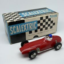 SCALEXTRIC BRM MM / C59 Rouge Avec Boite - Made In France - Tri-ang