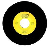 Mary White 1970's Gibbs 45rpm Outside Love b/w Prisoner Of The Blues