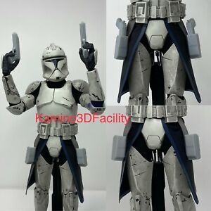 "Star Wars 1/6 ARC Trooper Kama (Blue) with DC-17 & Holster For Custom 12""Figure"