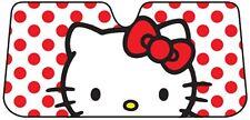 Sanrio Hello Kitty Dots Windshield Car Sun Shade Accordion Sunshade