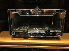 Disneyland Resort Princess Aurora Castle Chromed Metal License Plate Frame New