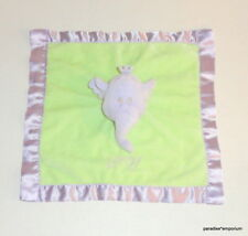 Disney Lumpy Purple Elephant Baby Security Blanket Winnie the Pooh Green P76