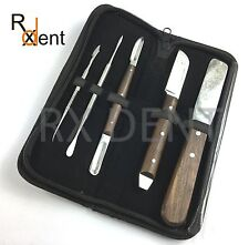 Dental Lab Wax Modelling Kit Knife Spatula Carver Zahle Dental instrument LBKTD1