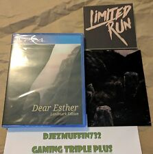 DEAR ESTHER LANDMARK EDITION (PLAYSTATION 4, PS4) LIMITED RUN (ONLY 5000 MADE)