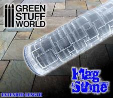 Rodillo Texturizado Pavimento Piedra - peanas texturizada Warhammer Infinity AOS