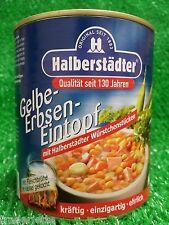 (3,74�'�/KG) Halberstädter GELBE ERBSEN EINTOPF Erbsensuppe Ostprodukte 800g Dose!