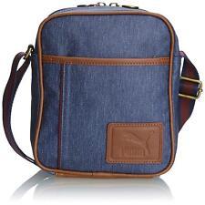 aa2b5e89d0 Puma Grade Portable Shoulder Bag Unisex Retro Classic Peacoat Denim NEW